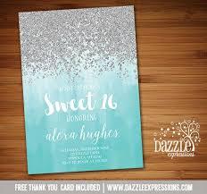 best 25 sweet 16 invitations ideas on sweet sixteen