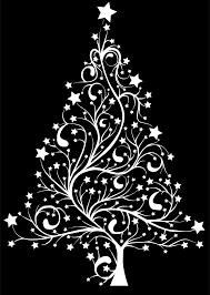 black and whitehristmas tree ribbon ideas skirtlip