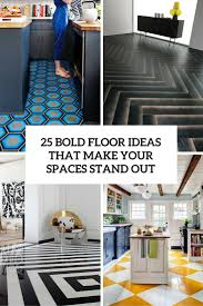 25 bold flooring ideas that make your spaces stand out digsdigs