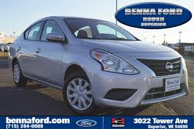 nissan versa dark blue benna ford superior vehicles for sale in superior wi 54880