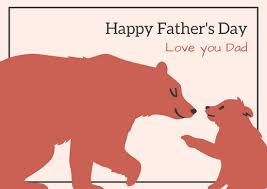 father u0027s day card templates canva