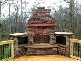 outdoor fireplace on deck outdoor fireplace deck table tabletop covered kitchens patios patio design accessories ideas