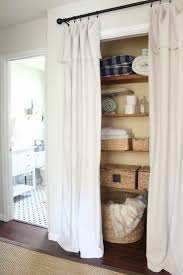 Curtain For Closet Door Create A New Look For Your Room With These Closet Door Ideas