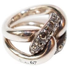 pomellato anelli anelli pomellato 67 pomellato in argento argentato vestiaire