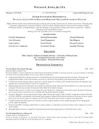 Investment Banking Resume Template It Asset Management Resume Sample Resume For Your Job Application