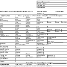 construction estimate template sheets within home construction