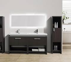 Dark Gray Bathroom Vanity Levi 63