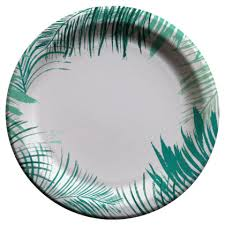 paper plates cheeky port for cheeky 10 paper plates palm edge