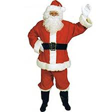 halco complete santa suit costume clothing