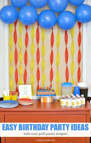 home party decoration birthday decoration ideas at home for baby girl design simple room