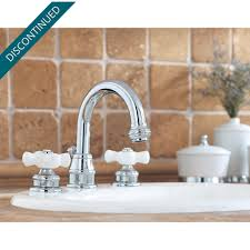 Price Pfister 49 Series by Polished Chrome Savannah Widespread Bath Faucet T49 H0xc
