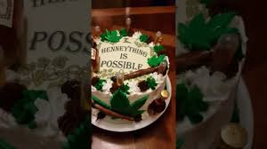 hennessy cake hennything is possible youtube