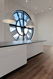 modern kitchen clocks the clock tower by minimal