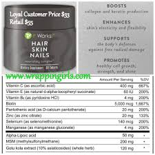 nail art it works hairin nails with essential vitamins minerals
