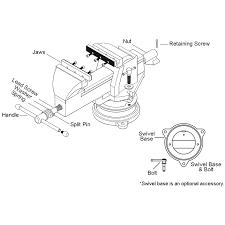 mechanics vise replacement parts for ductile iron series vises