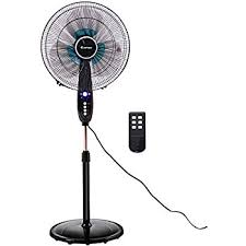 pedestal fan with remote amazon com lakewood lsf1610br bm 16inch remote control stand fan