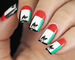 Colors Of Uae Flag Copycat Claws 31dc2014 Day 28 Inspired By A Flag