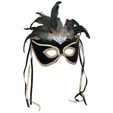 feather masks mardi gras feather mask black target