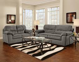 splendid small living room design with grey sofa sets with glass