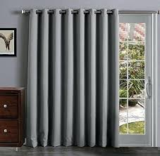 Insulate Patio Door Thermal Patio Door Curtains With Grommets One Way Draw Curtain