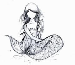 25 mermaid drawing tutorial ideas mermaid