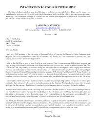 introduction letter to prospective client