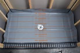 shower pan liner kit 6x8 oatey home kitchen