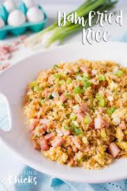 ham fried rice recipe the crafting