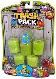 trash pack gross gang garbage toys paradise