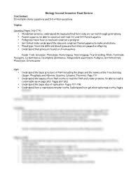 biology second semester final review pdf biology 1 with friedman
