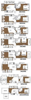 bunkhouse fifth wheel floor plans outstanding 2 bedroom 5th wheel floor plans and eagle premier fifth