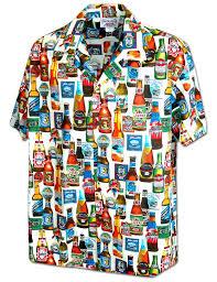 parrot bartender aloha shirt shaka time hawaii clothing store