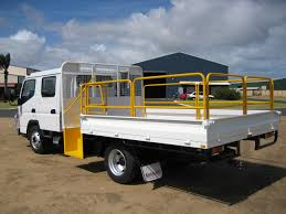truck mitsubishi canter truck trays gt fabrication
