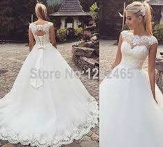 aliexpress com buy designer ball gown appliqued wedding dress