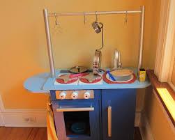 play kitchen ideas blue wood play kitchen best 25 wooden play kitchen ideas only on