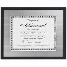 document frame dax prestige document frame matted w cert rosewood black 11 x