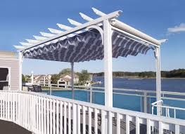Retractable Pergola Awning by Retractable Awning Fabric Canopy Solar Shades Aluminum Awning