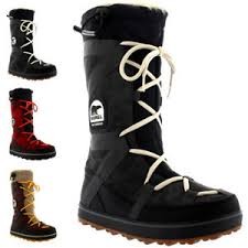 s waterproof boots uk womens sorel glacy explorer waterproof winter fur lined