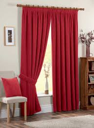 accessories fascinating window treatment decoration using red
