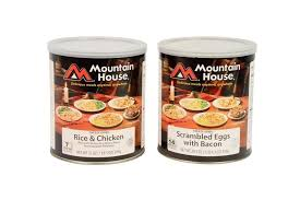 oregon freeze dried mountain house bulk canned food in cases