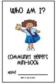 in this emergent reader the students learn how community helpers