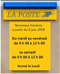 horaire bureau nouveaux horaires du bureau de poste commune de biéville beuville