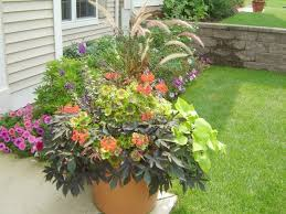Container Flower Gardening Ideas Fall Container Flower Gardening Container Flower Gardening