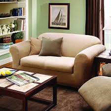 Sure Fit Slipcovers Review Sure Fit Stretch Stripe Box Cushion Loveseat Slipcover U0026 Reviews