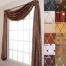 Curtain Hanging Ideas Ideas Best 25 Scarf Valance Ideas On Pinterest Curtain Scarf Ideas