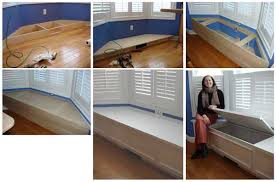 how to build a window seat custom window seats extra storage space home tips for women