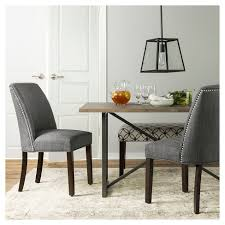 target kitchen table and chairs wynnefield mixed material trestle dining table threshold target