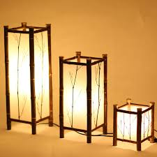 led chinese style vintage lamp bamboo light indoor lighting home