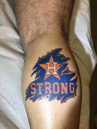 houstonians are showing houston astros with these tattoos
