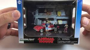 greenlight hollywood animal house diorama review youtube